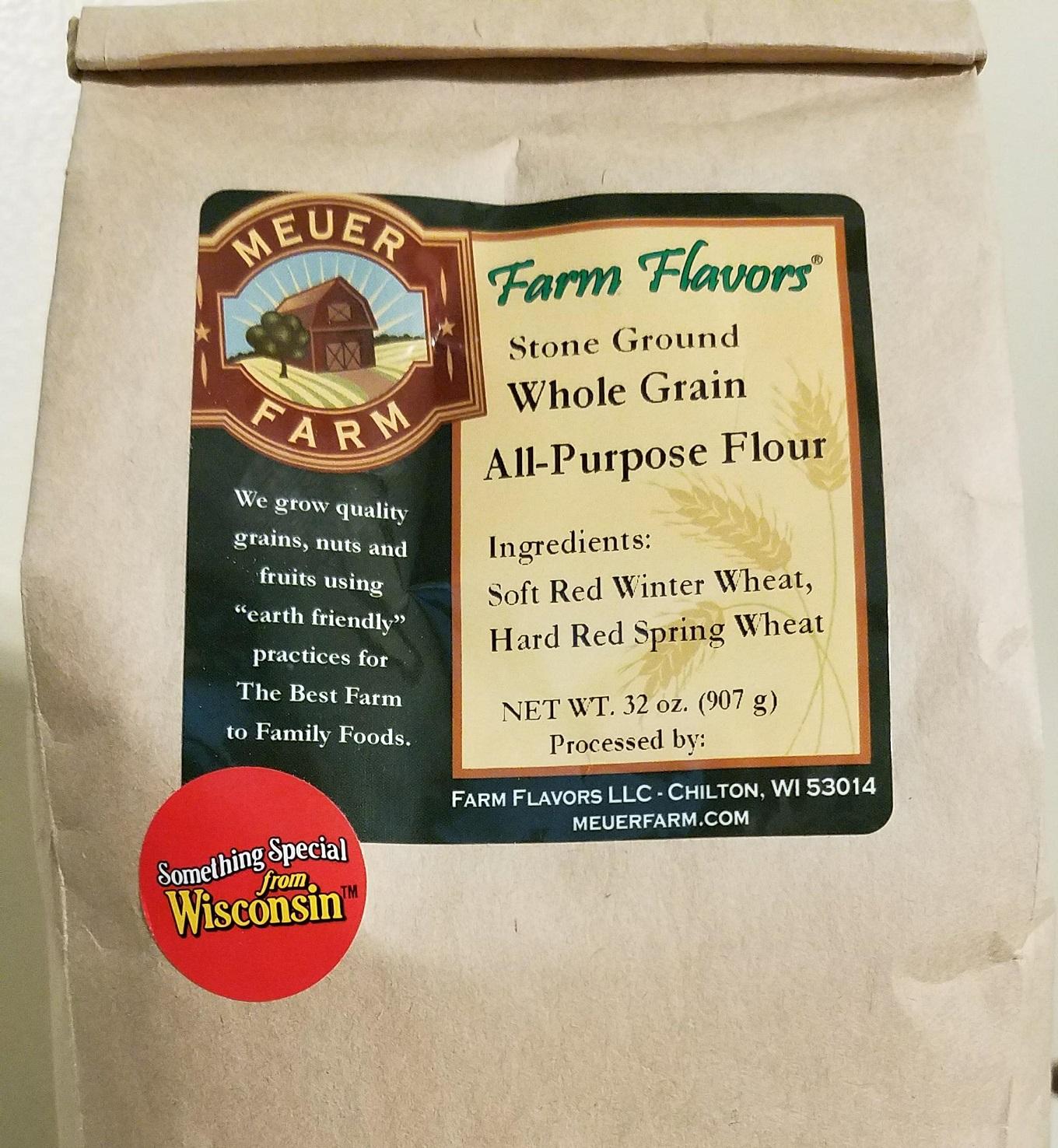 Flour whole wheat all purpose