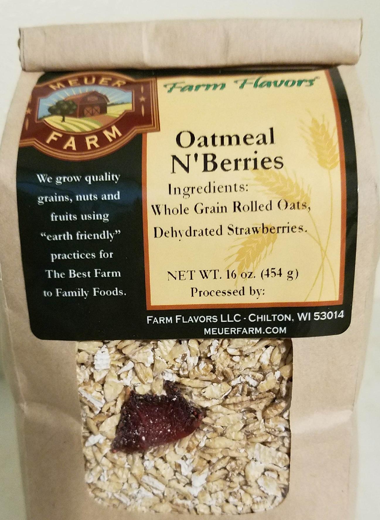 Oatmeal N'Berries